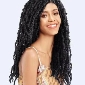 CRO DISTRESSED LOCS FREEDOM COLLECTION  SYNTHETIC CROCHET HAIR